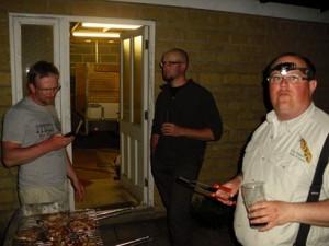 Barbecue du soir.